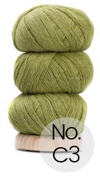 Geilsk Bomuld og Uld: C3 Limette Grün