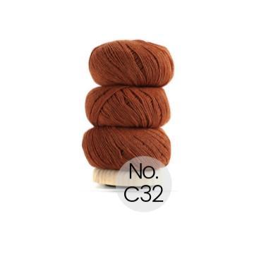 Geilsk Bomuld og Uld: C32 Orange