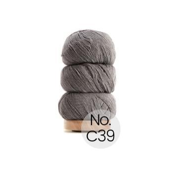 Geilsk Bomuld og Uld: C39 Grau