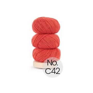 Geilsk Bomuld og Uld: C42 Tomate
