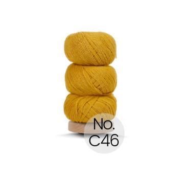 Geilsk Bomuld og Uld: C46 Ockergelb