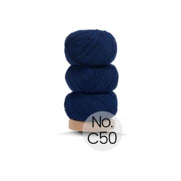 Geilsk Bomuld og Uld: C50 Brilliantblau