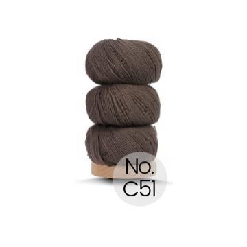 Geilsk Bomuld og Uld: C51 Braun