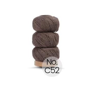 Geilsk Bomuld og Uld: C52 Walnuss