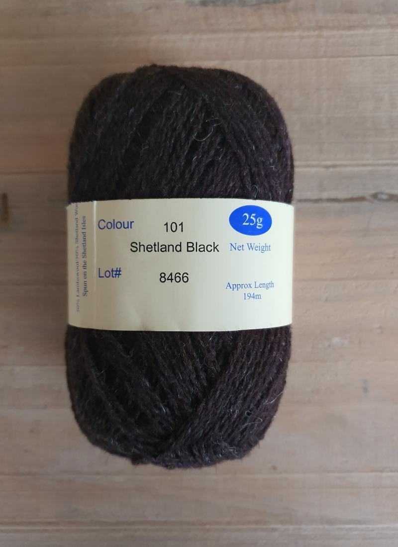 Ultra: 101 Shetland (natural) Black