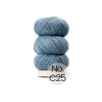 Geilsk Bomuld og Uld: C25 Grau Blau