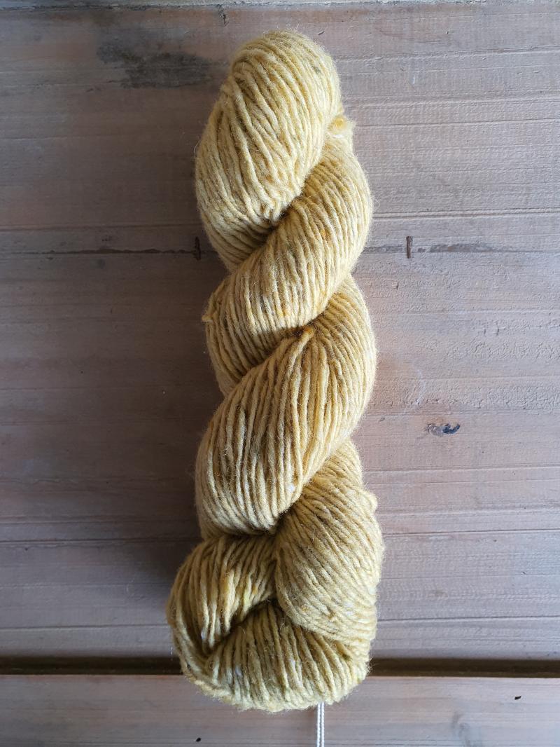 Isager Aran Tweed: Yellow