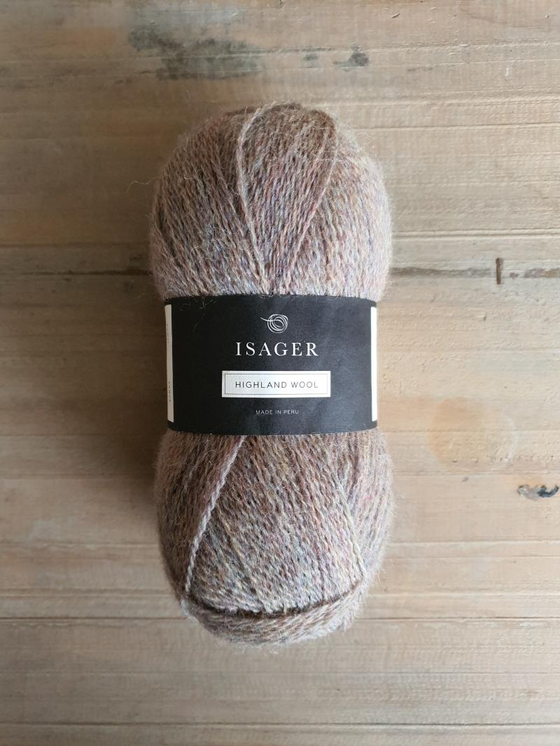 Isager Highland Wool: Stone