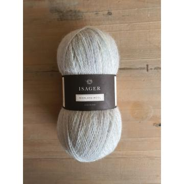 Isager Highland Wool: Ice Blue