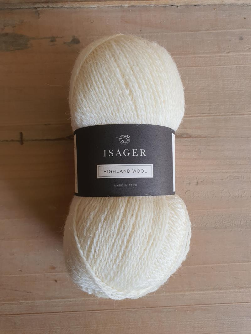 Isager Highland Wool: E0