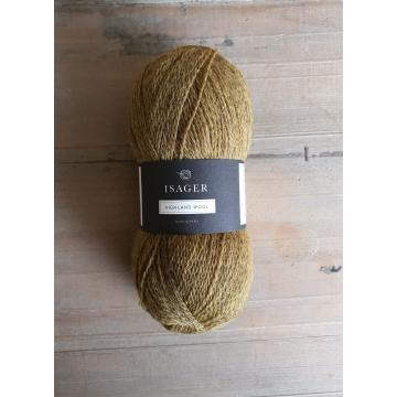Isager Highland Wool: Curry