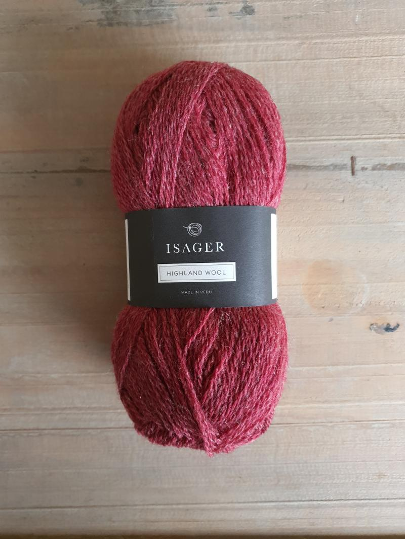 Isager Highland Wool: Chili