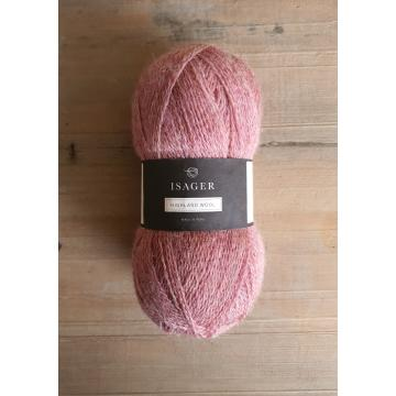 Isager Highland Wool: Rose