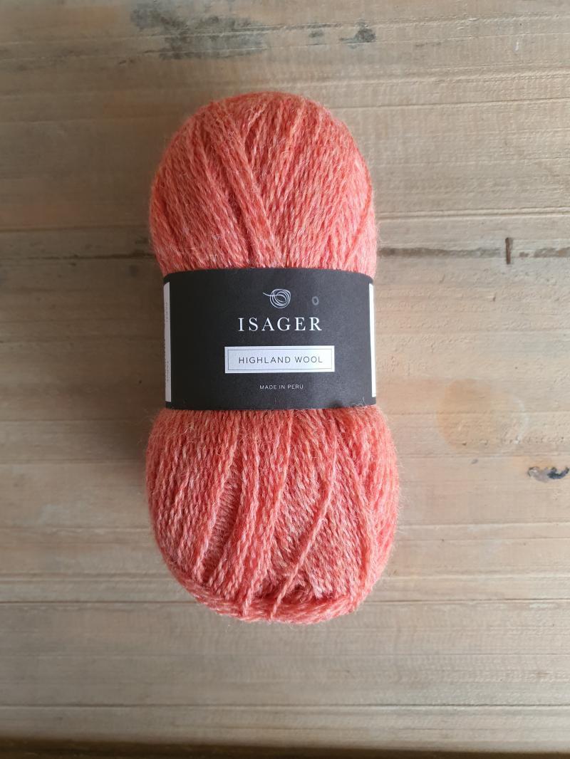Isager Highland Wool: Rhubarb