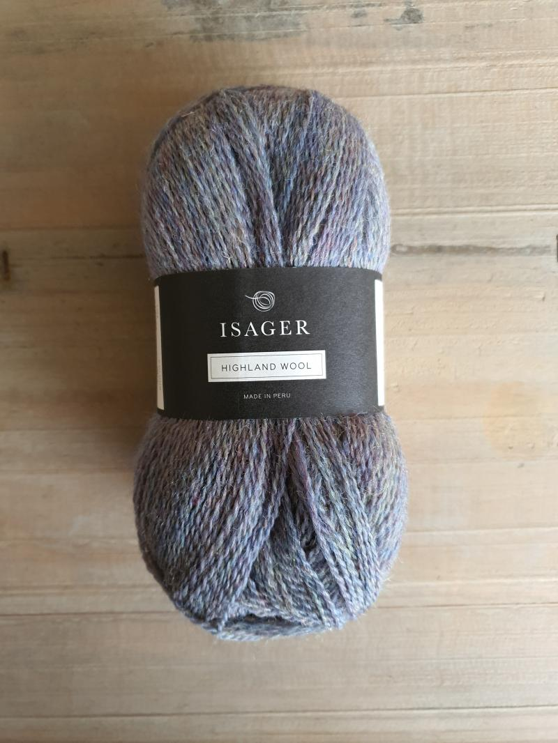 Isager Highland Wool: Sky