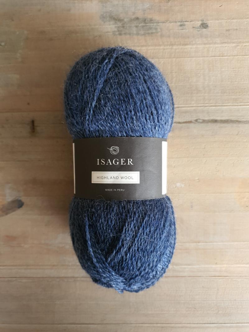 Isager Highland Wool: Denim