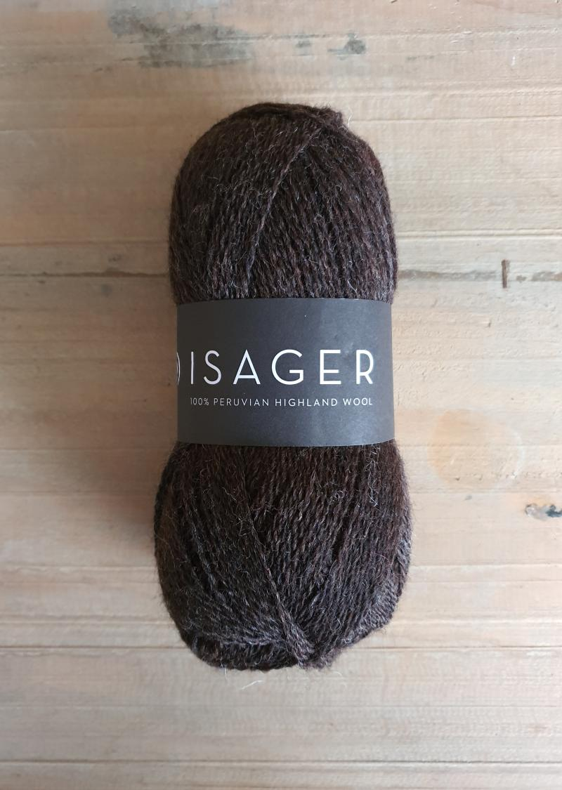 Isager Highland Wool: Chocolate