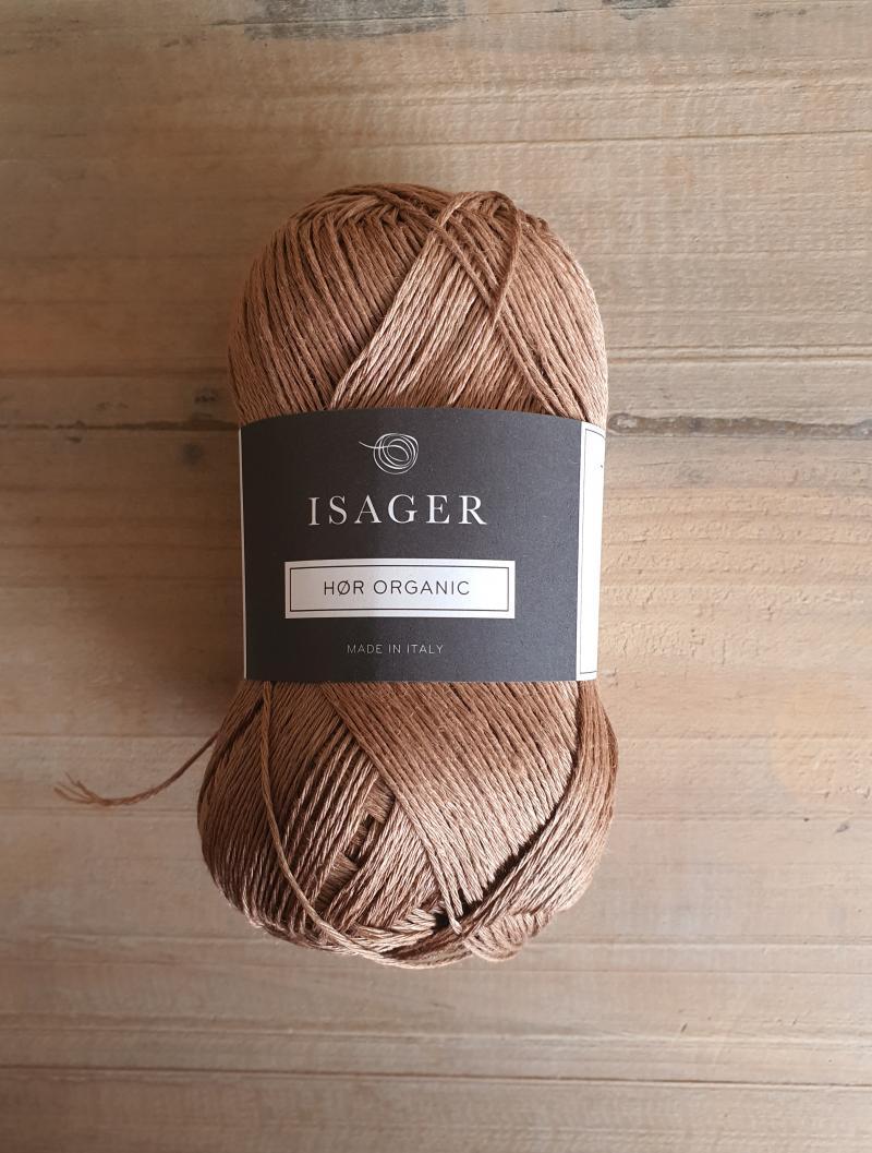 Isager Hør Organic: Camel