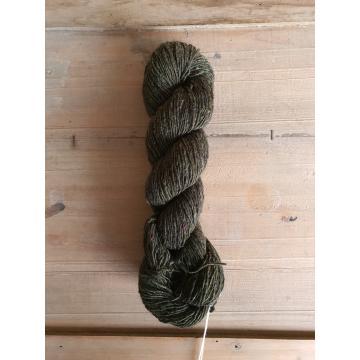 Isager Tweed: Bottle Green
