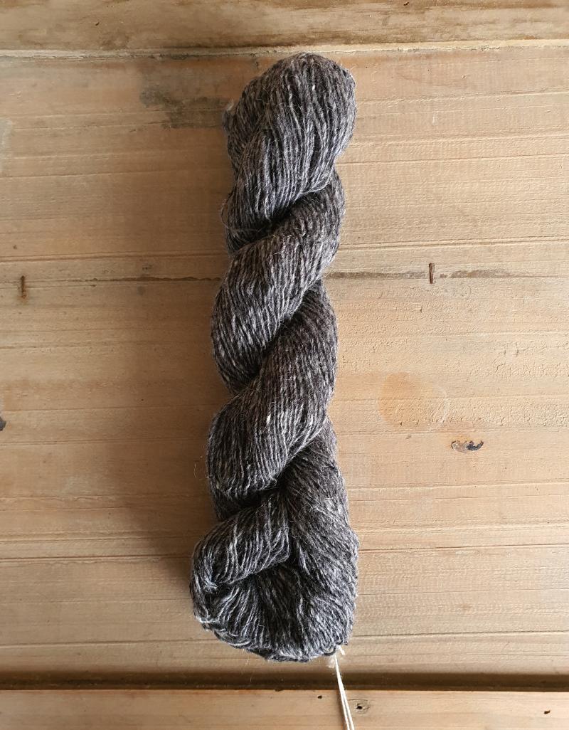 Isager Tweed: Granite