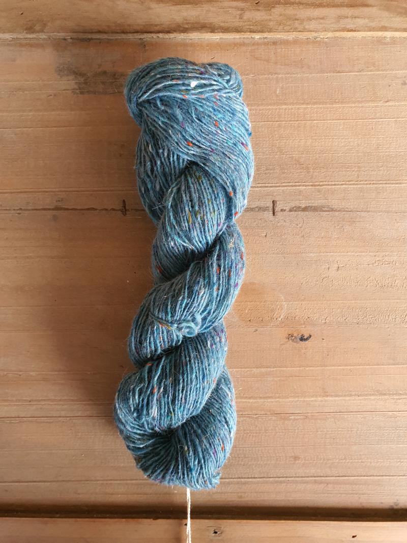 Isager Tweed: Turquise