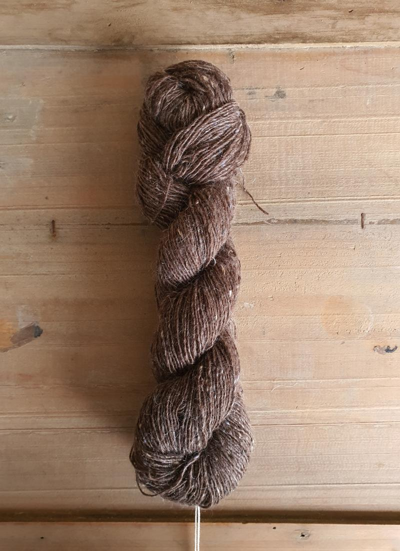 Isager Tweed: Walnut
