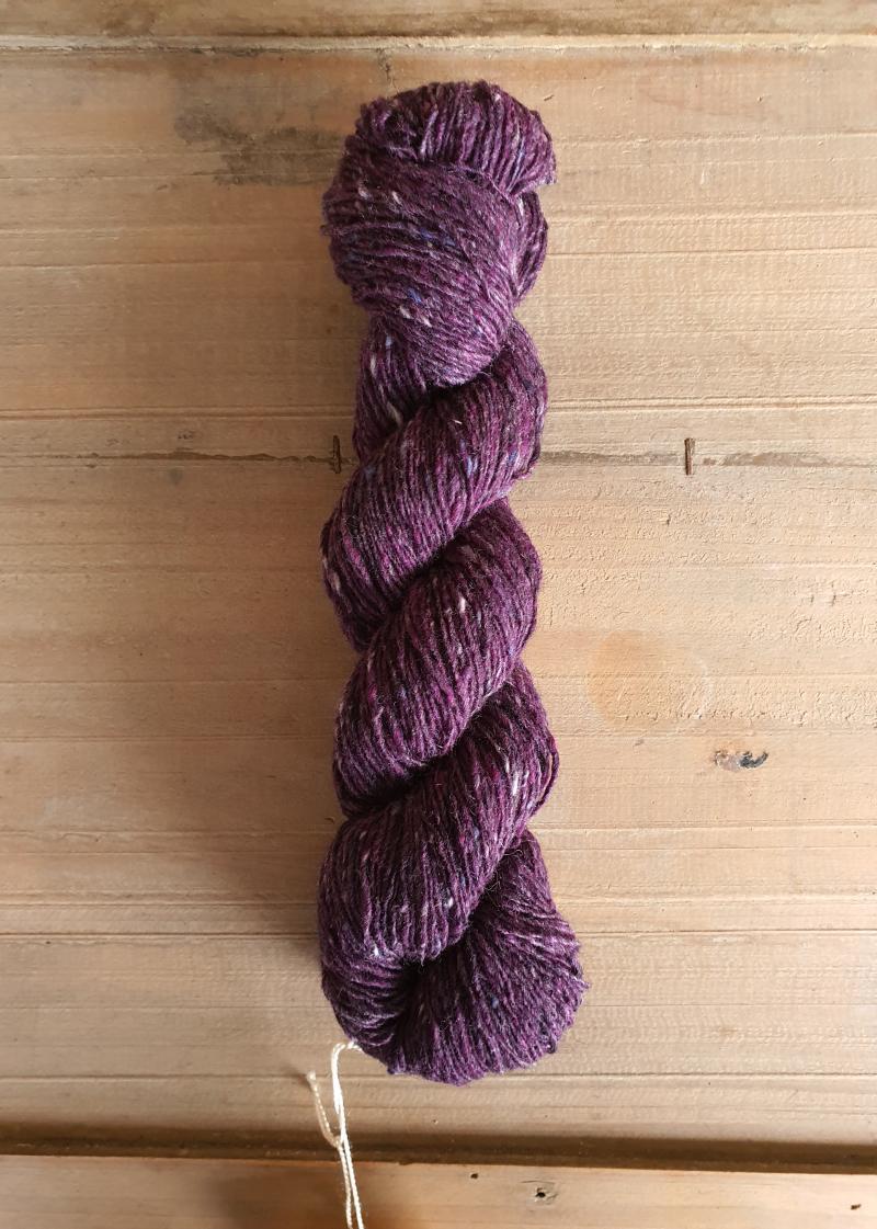 Isager Tweed: Purple