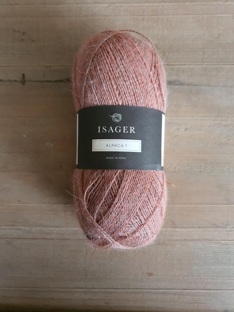 Isager Alpaca 1: Peach (melange)