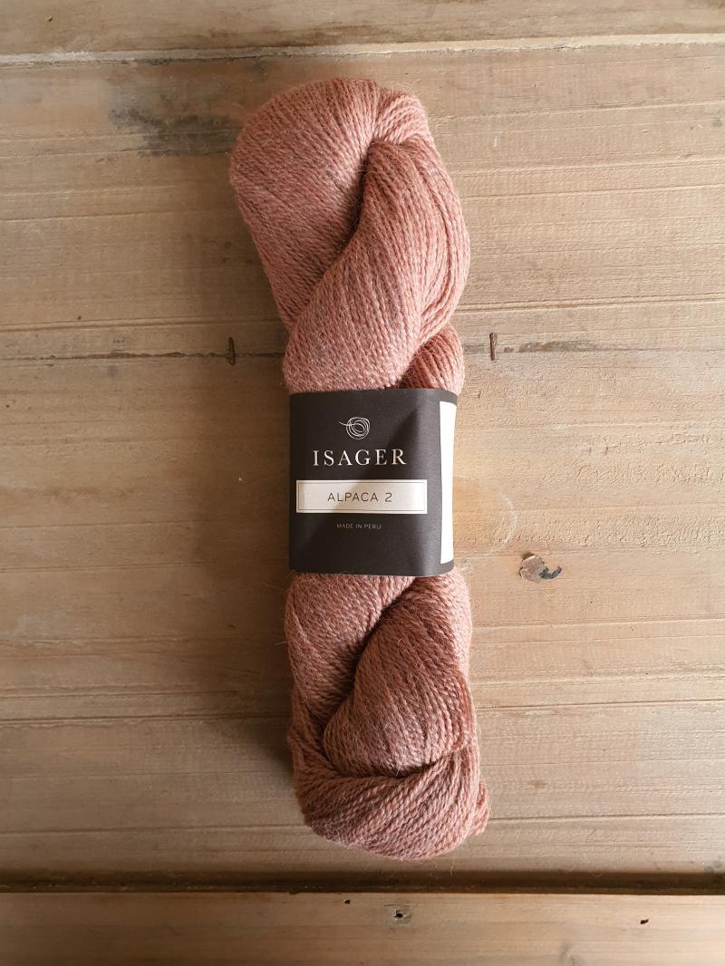 Isager Alpaca 2: Peach (melange)