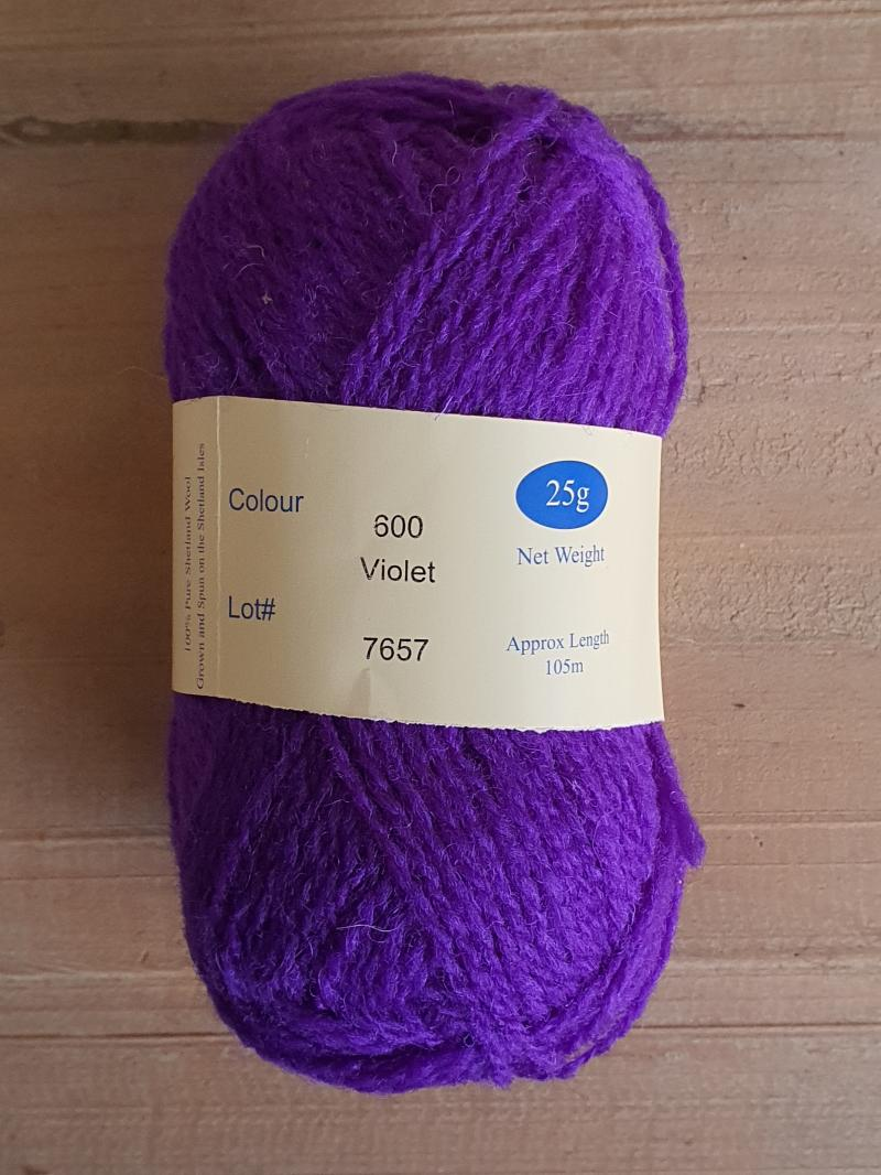 Spindrift: 600 Violet