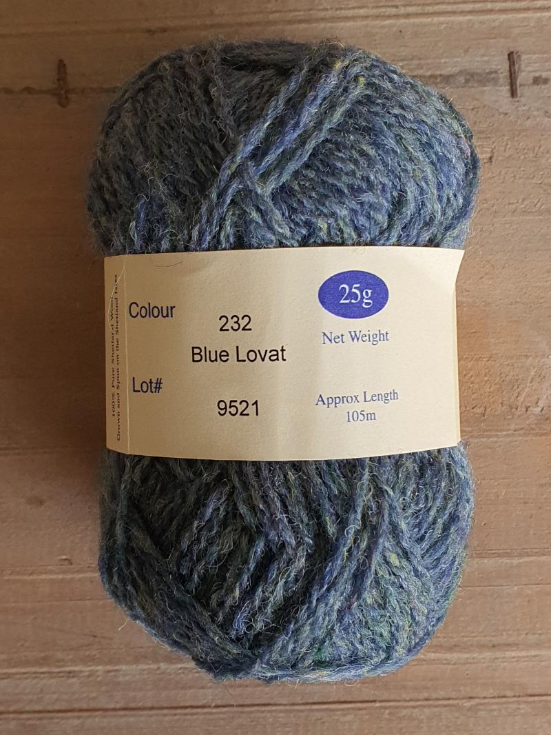 Spindrift: 232 Blue Lovat