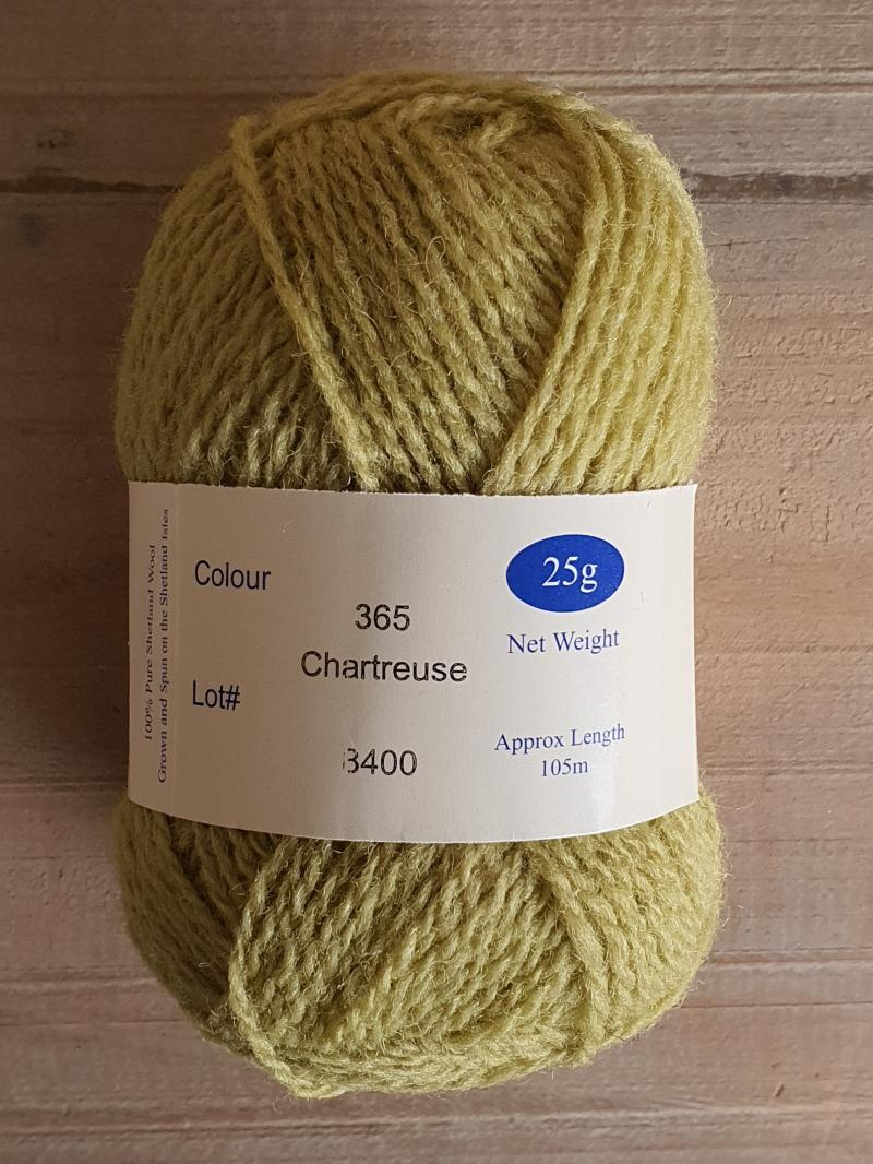 Spindrift: 365 Chartreuse