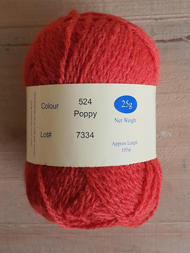 Spindrift: 524 Poppy