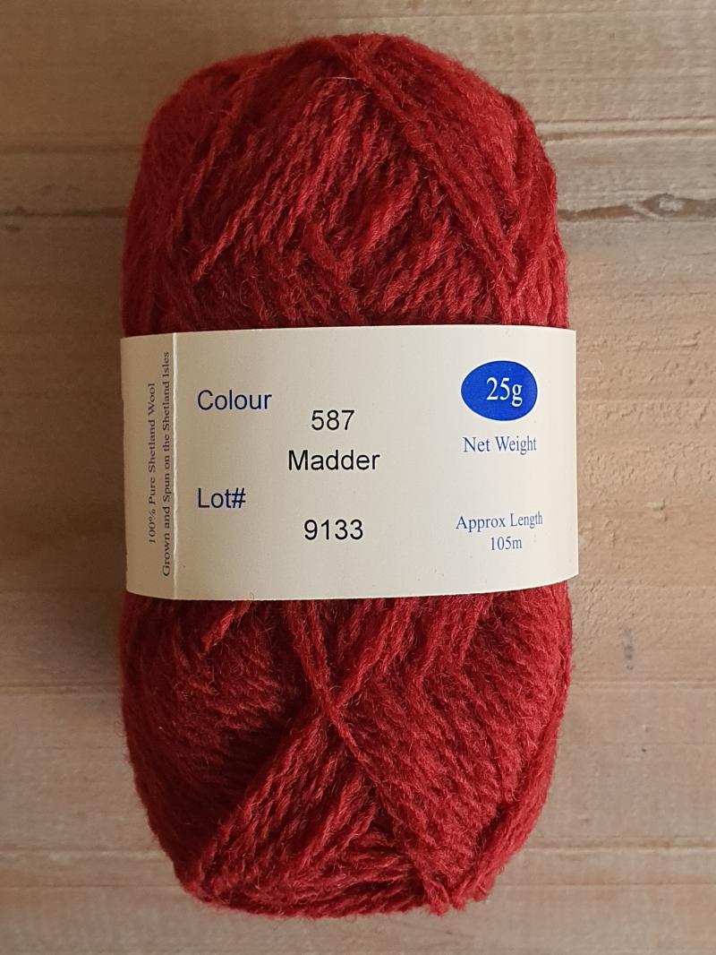 Spindrift: 587 Madder