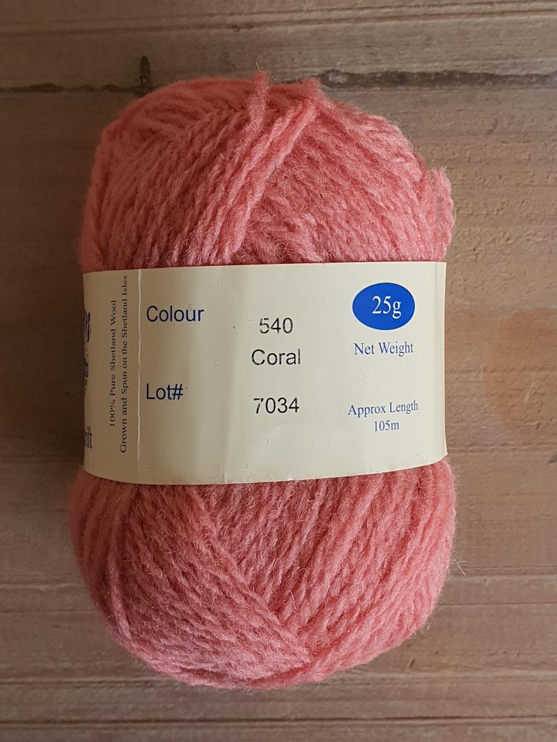 Spindrift: 540 Coral