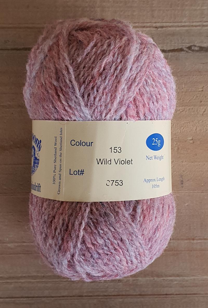 Spindrift: 153 Wild Violet