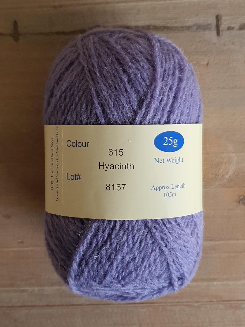 Spindrift: 615 Hyacinth