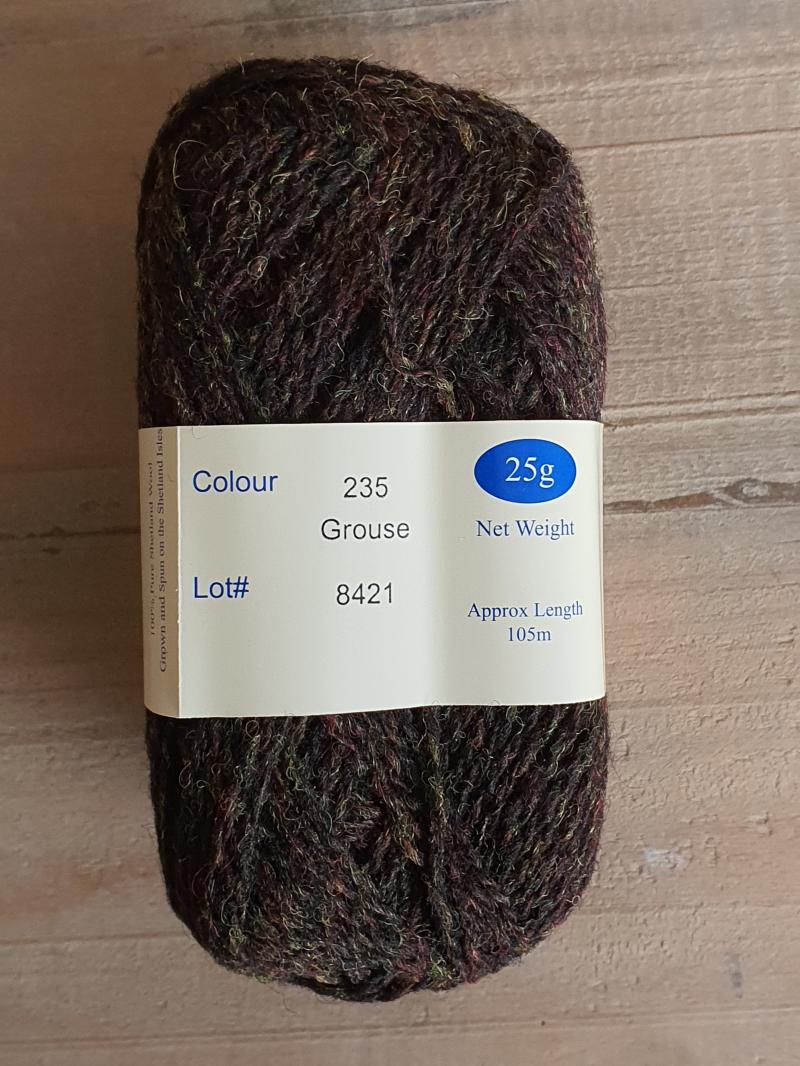 Spindrift: 235 Grouse