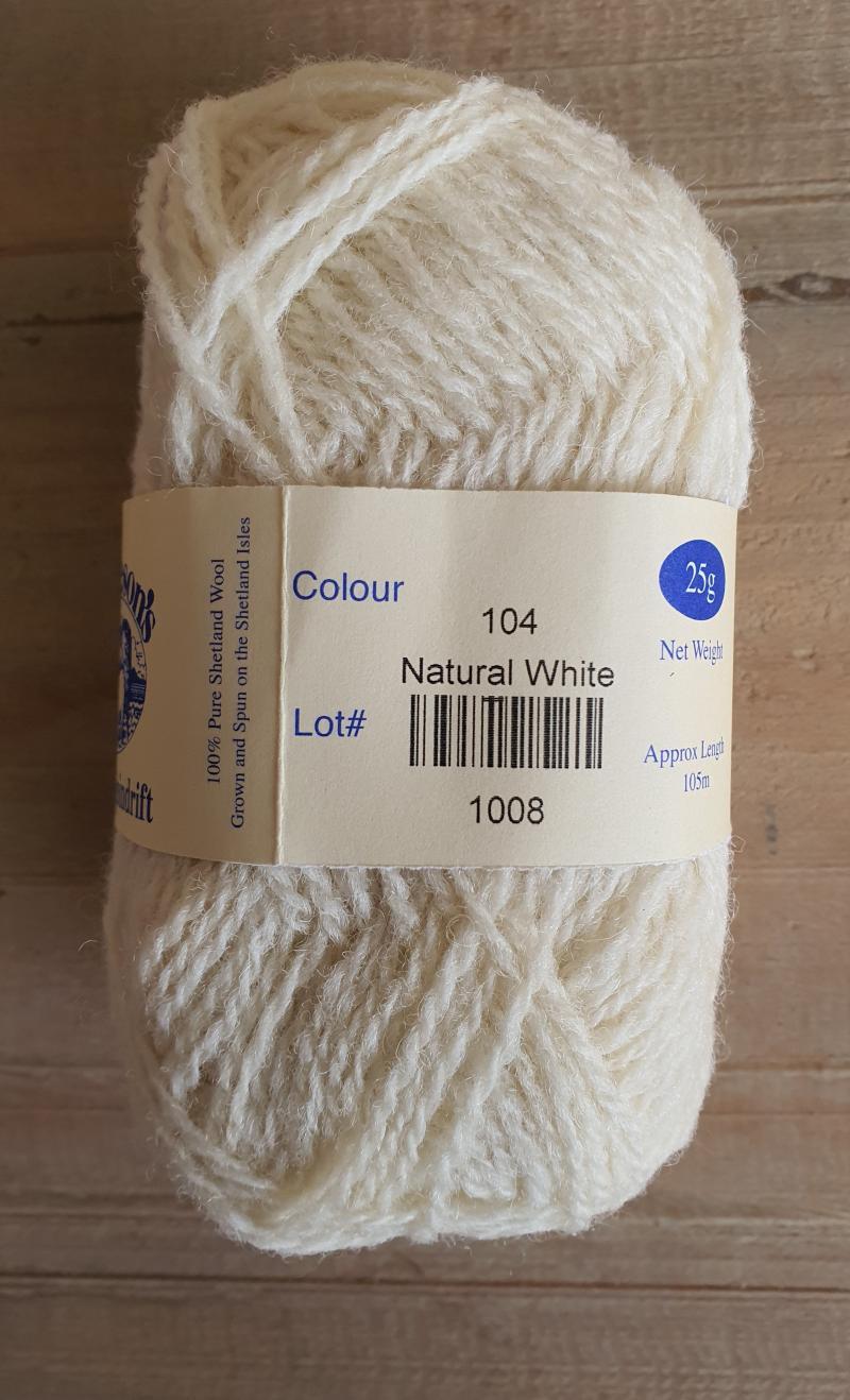 Spindrift naturals: 104 Natural White