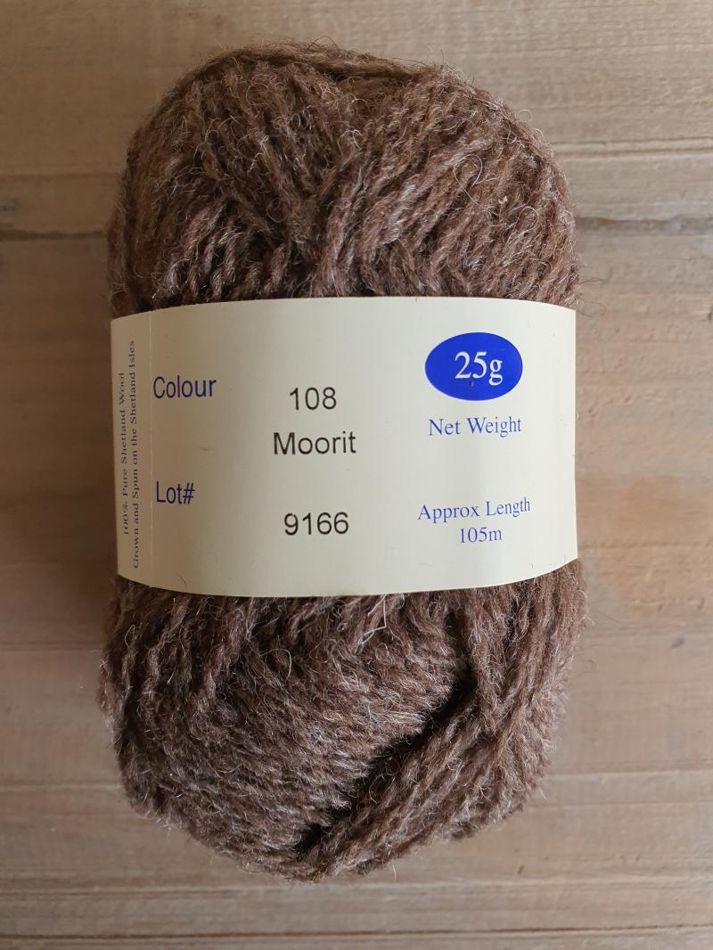 Spindrift naturals: 108 Moorit
