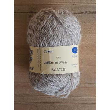 Spindrift naturals: 113 Sholmit / White