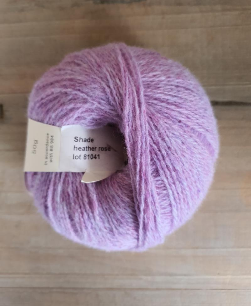 Supersoft 4ply: Heather Rose