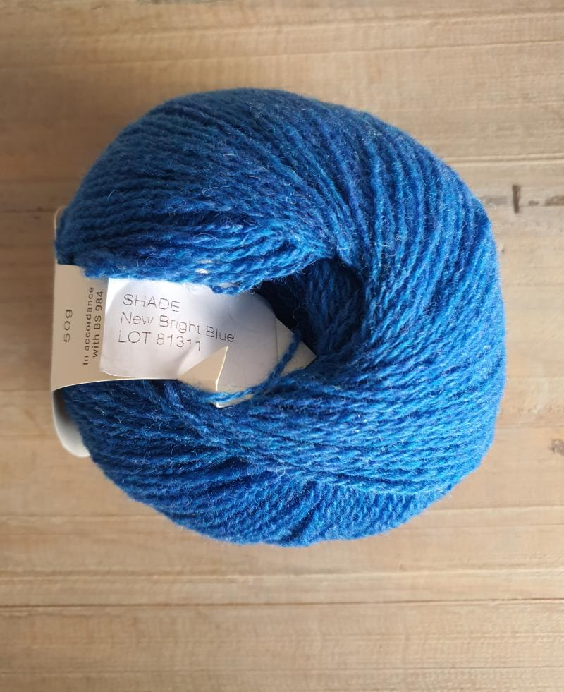 Supersoft 4ply: New Bright Blue