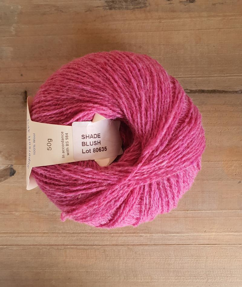 Supersoft 4ply: Blush