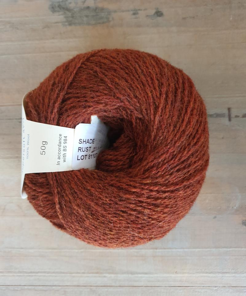 Supersoft 4ply: Rust