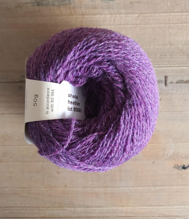 Supersoft 4ply: Heather