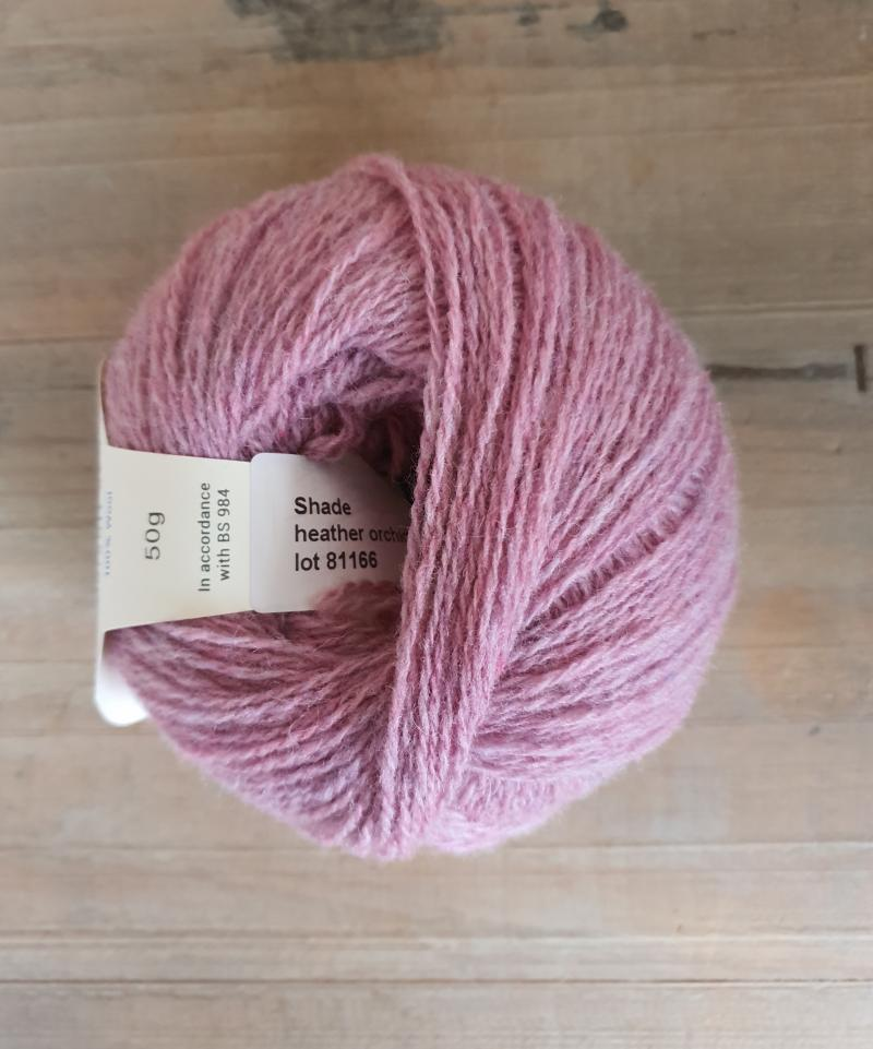 Supersoft 4ply: Heather Orchid