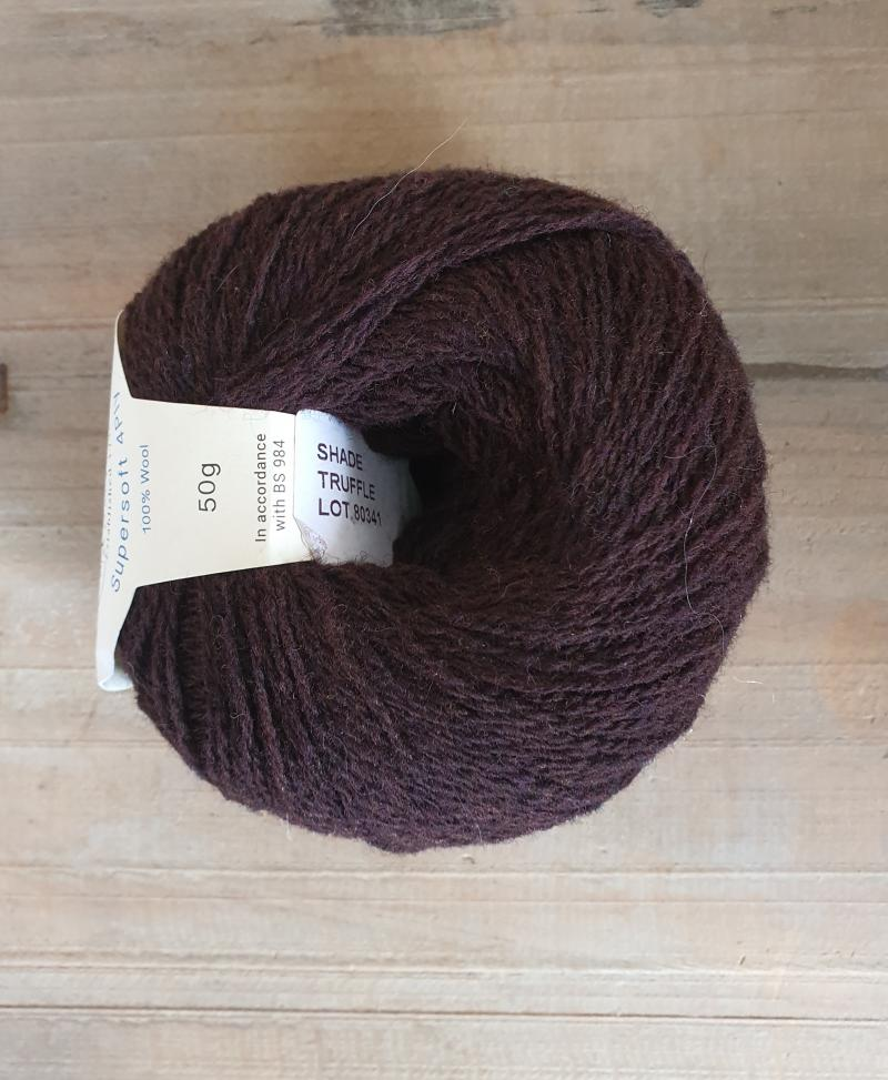 Supersoft 4ply: Truffle