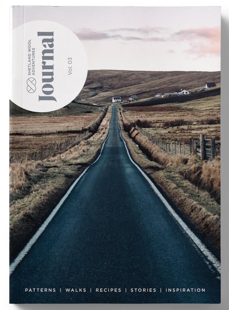 Vororder: Shetland Wool Adventures Journal - 3