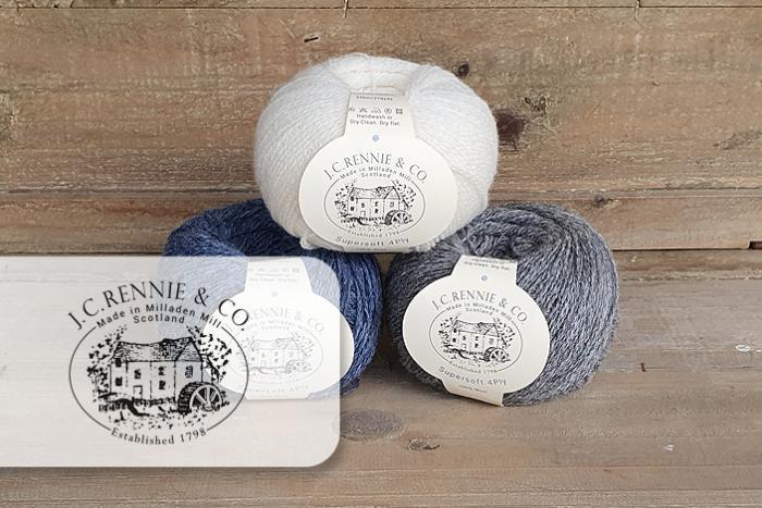 Wolle von JC Rennie & Co